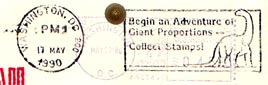 U.S. collect stamps cancel